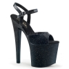 TABOO - 709MMG Black Faux Leather